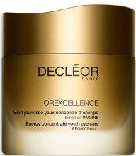 Парфюми, Парфюмерия, козметика Подмладяващ крем за околоочна зона - Decleor Orexcellence Energy Concentrate Youth Eye Care