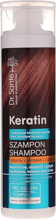 Шампоан за тънка и крехка коса - Dr. Sante Keratin Shampoo