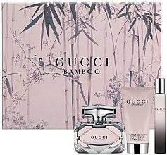 Парфюми, Парфюмерия, козметика Gucci Gucci Bamboo - Комплект (edp/50ml + b/lot/50ml + edp/7.4ml)