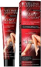 Парфюмерия и Козметика Крем депилатоар за крака - Eveline Cosmetics Laser Precision