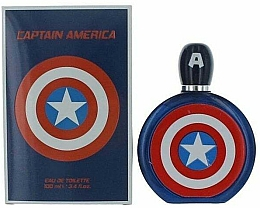 Парфюмерия и Козметика Marvel Captain America - Тоалетна вода
