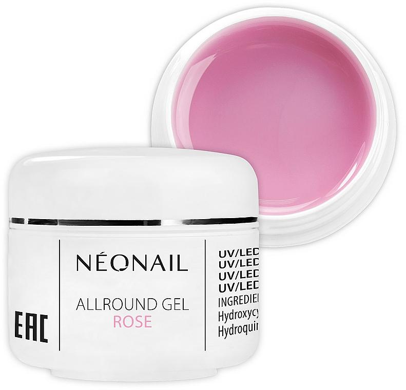 Розов гел за нокти - NeoNail Professional Allround Gel Rose
