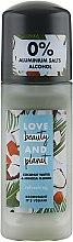 Парфюмерия и Козметика Рол-он дезодорант с кокосова вода и цвят мимоза - Love Beauty And Planet