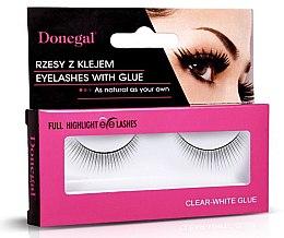 Парфюми, Парфюмерия, козметика Изкуствени мигли, 4455 - Donegal Full Highlight Eye Lashes