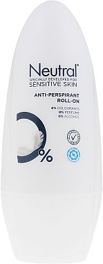 Рол-он дезодорант - Neutral 0% Anti-Perspirant Roll-On — снимка N1