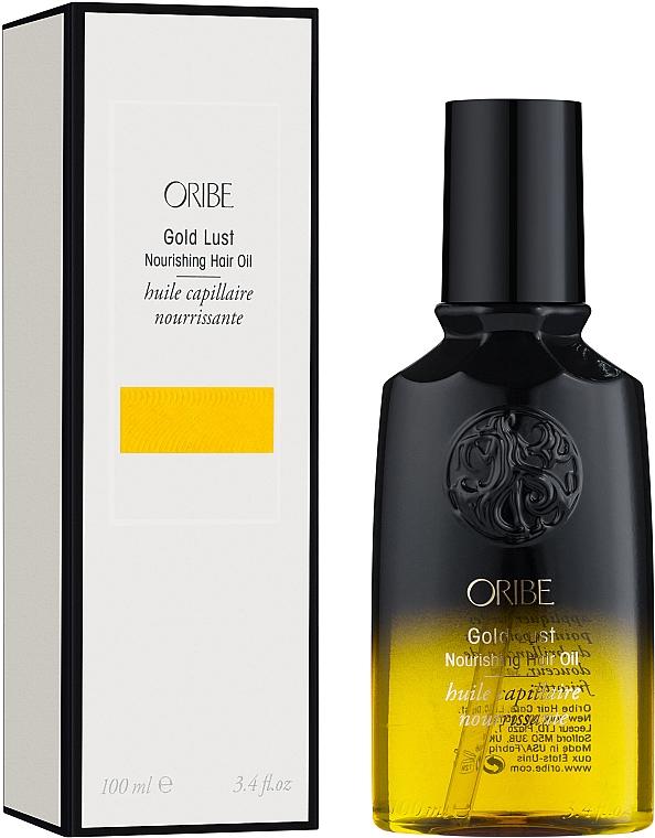 Подхранващо масло за възстановяване на изтощена и увредена коса - Oribe Gold Lust Nourishing Hair Oil — снимка N1