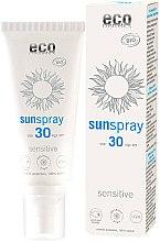 Парфюмерия и Козметика Слънцезащитен спрей - Eco Cosmetics Sun Spray Spf 30 Sensitive