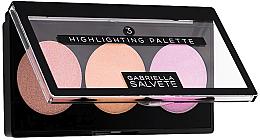 Парфюмерия и Козметика Палитра хайлайтъри - Gabriella Salvete Highlighting Palette