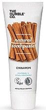 Парфюмерия и Козметика Натурална паста за зъби с канела - The Humble Co. Natural Toothpaste Cinnamon