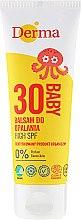 Парфюми, Парфюмерия, козметика Детски слънцезащитен балсам - Derma Eco Baby Sun Screen High SPF30