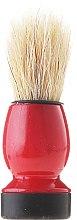 Парфюмерия и Козметика Четка за бръснене, 9572, червено-черна - Donegal