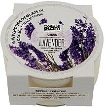 Парфюми, Парфюмерия, козметика Ароматна свещ - House of Glam Virgin Lavender Candle (мини)
