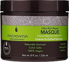 Парфюмерия и Козметика Възстановяваща маска за коса - Macadamia Professional Ultra Rich Repair Mask