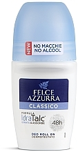 Парфюмерия и Козметика Рол-он дезодорант - Felce Azzurra Deo Roll-on IdraTalc Classic