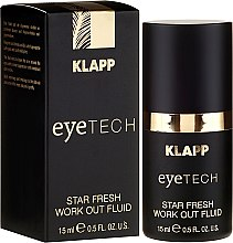 Парфюми, Парфюмерия, козметика Околоочен флуид - Klapp Eyetech Star Fresh Work Out Fluid