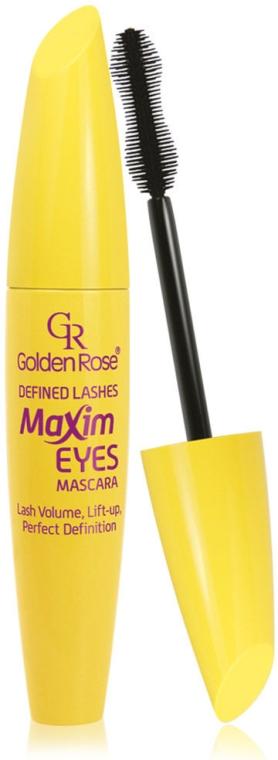 Спирала за мигли - Golden Rose Defined Lashes Maxim Eyes Mascara