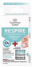 Парфюмерия и Козметика Основа и топ лак 2 в 1 - Constance Carroll Nail Care Respire Oxygen Technology