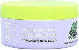 Парфюмерия и Козметика Антицелулитен серум за тяло - Fluff Anti-Celluite Body Serum