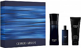 Парфюмерия и Козметика Giorgio Armani Code - Комплект за мъже (тоал. вода/75ml + душ гел/75ml + тоал. вода/15ml)
