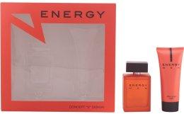 Парфюми, Парфюмерия, козметика Concept V Design Energy Men - Комплект (edt/100ml + ash/balm/100ml)