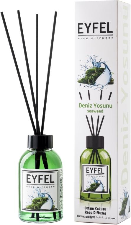 """Арома дифузер """"Морски водоросли"""" - Eyfel Perfume Reed Diffuser Seaweed"""
