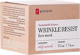 Парфюми, Парфюмерия, козметика Маска за лице против стареене - Phenome Wrinkle Resist Face Mask