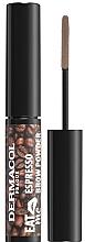 Парфюмерия и Козметика Пудра за вежди - Dermacol Eat Me Espresso Eyebrow Powder