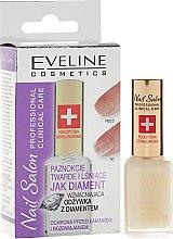 Парфюмерия и Козметика Балсам за нокти с диамант - Eveline Cosmetics Nail Therapy Professional