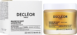 Подмладяващ нощен балсам за лице с етерично масло от Ирис - Decleor Aromessence Iris Rejuvenating Night Balm — снимка N2