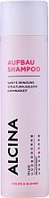 Парфюмерия и Козметика Възстановяващ шампоан за коса - Alcina Color & Blonde Regenerative Shampoo