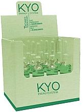 Парфюмерия и Козметика Енергизиращи ампули за коса - Kyo Energy System Vials