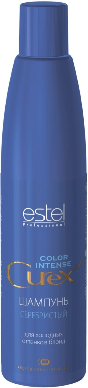 Сребърен шампоан за хладни руси оттенъци - Estel Professional Curex Color Intense