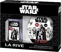 Парфюми, Парфюмерия, козметика La Rive Star Wars First Order - Комплект (deo/80ml + sh/gel/shm/250ml)