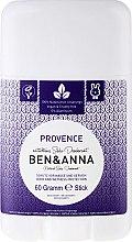 Парфюмерия и Козметика Дезодорант на базата на сода с провансалски аромат - Ben & Anna Natural Soda Deodorant Provence