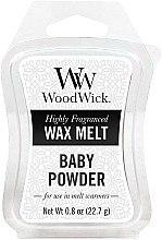 Парфюмерия и Козметика Ароматен восък - WoodWick Wax Melt Baby Powder