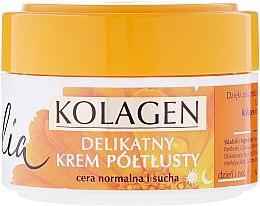 Парфюми, Парфюмерия, козметика Крем за лице - Celia Collagen Soft Semi-Rich Face Cream