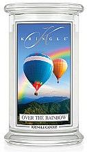 Парфюми, Парфюмерия, козметика Ароматна свещ в бурканче - Kringle Candle Over the Rainbow