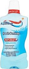 """Парфюмерия и Козметика Вода за уста """"Екстра свежест"""" - Aquafresh Extra Fresh"""