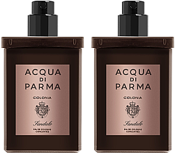 Парфюми, Парфюмерия, козметика Acqua Di Parma Colonia Sandalo Concentree - Комплект (одеколон/пълн./2x30ml)