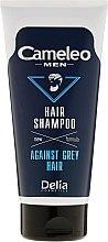 Шампоан за мъже против побеляване на косата - Delia Cameleo Men Against Grey Hair Shampoo — снимка N2