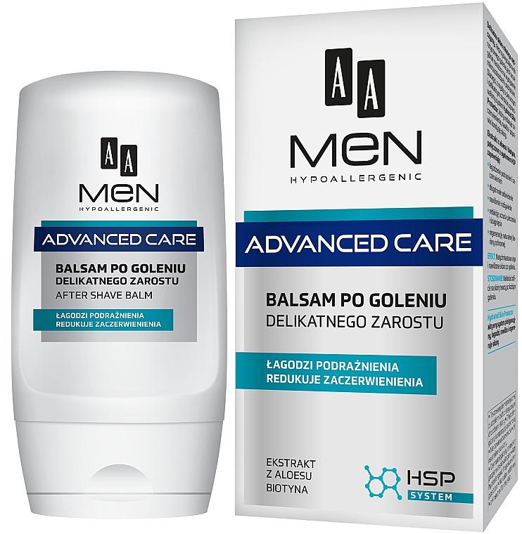 Балсам за след бръснене за чувствителна кожа - AA Men Advanced Care After Shave Balm For Delicate Facial Hair