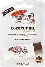 Парфюмерия и Козметика Балсам за устни - Palmer's Coconut Oil Formula Lip Balm