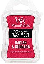 Парфюмерия и Козметика Ароматен восък - WoodWick Wax Melt Radish & Rhubarb
