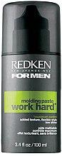 Парфюми, Парфюмерия, козметика Моделираща паста със силна фиксация - Redken For Men Work Hard Power Paste