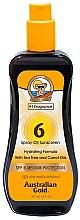 Парфюмерия и Козметика Спрей масло за тен - Australian Gold Tea Tree&Carrot Oils Spray SPF6