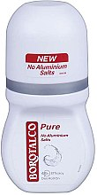 Парфюми, Парфюмерия, козметика Ро-он дезодорант-антиперспирант - Borotalco Pure Deodorant Roll On No Aluminium Salts 48h for Women