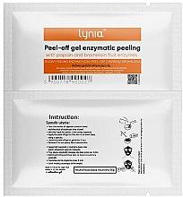 Парфюмерия и Козметика Ензимна маска за лице - Lynia Peel Off Gel Enzymatic Peeling