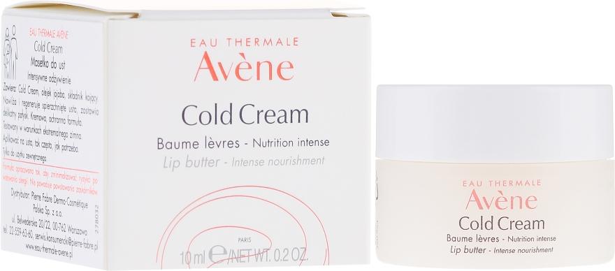 Подхранващ балсам за устни - Avene Cold Cream Lip Balm Intense Nourishment — снимка N1