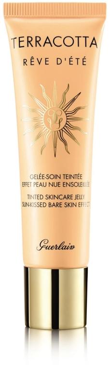Тониращо желе за лице за дълготарен тен - Guerlain Terracotta Reve d'Etй Tinted Skincare Jelly — снимка N1