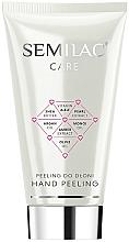 Парфюмерия и Козметика Пилинг за лице - Semilac Care Hand Peeling